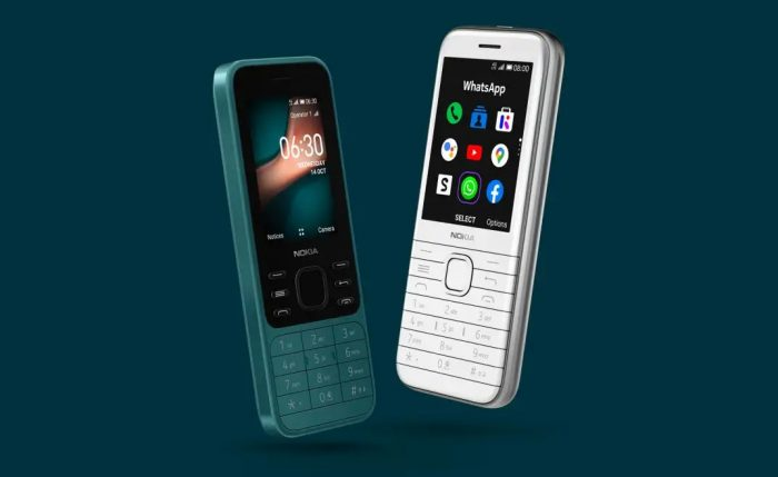 Nokia 6300 4G, Nokia 8000 4G running on KaiOS launched