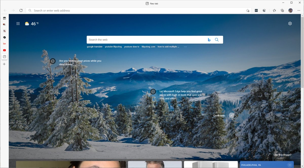 Microsoft Edge 89 brings faster startup, reduced resource consumption, vertical tab