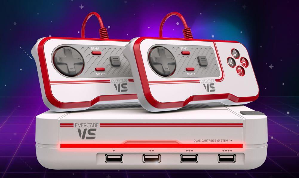 Evercade VS is a multi-player retro console for the living room