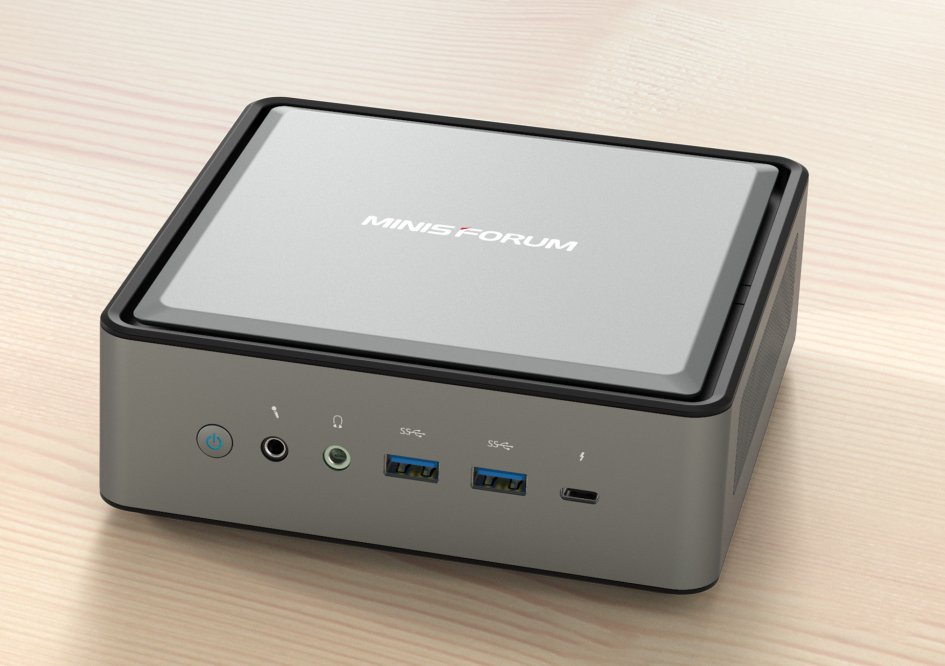 MINISFORUM TL50 is a mini PC with Intel Tiger Lake, Iris Xe graphics, and Thunderbolt 4