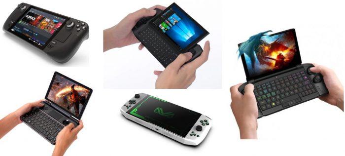 Handheld gaming PCs
